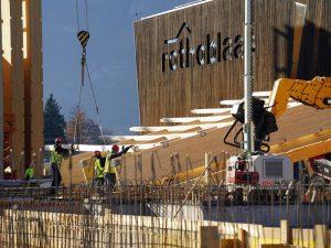 Rothoblaas fából készült gyár építés